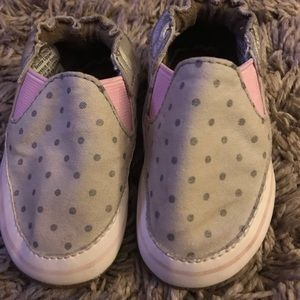 Robeez baby girl shoes 0-3 mo